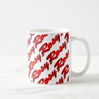 Rosy Basic White Mug