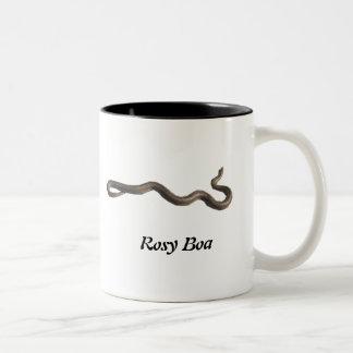 Rosy Boa Two-Tone Mug