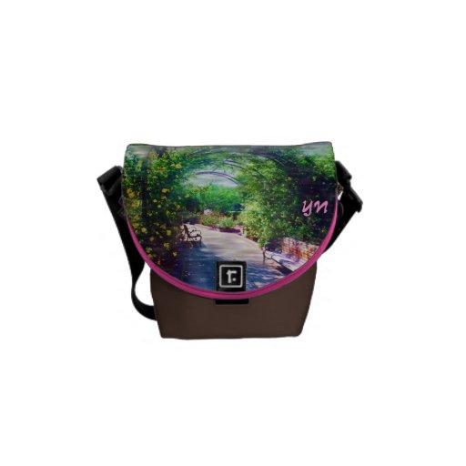 Rosy Bower  small messenger bag