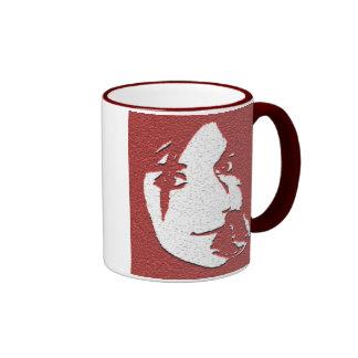 Rosy Cheeks Ringer Mug