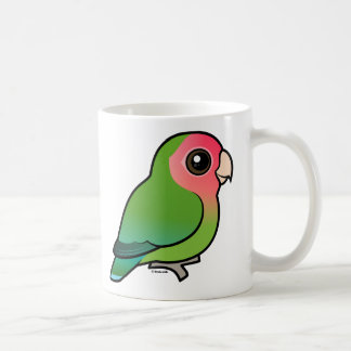 Rosy-faced Lovebird Coffee Mug