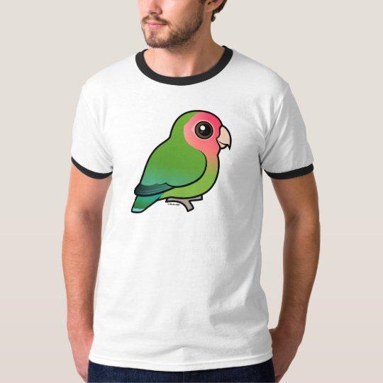 Rosy-faced Lovebird T-Shirt