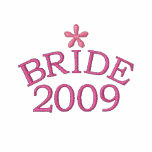 Rosy Pink Bride 2009 Customisable Embroidered Hoodies