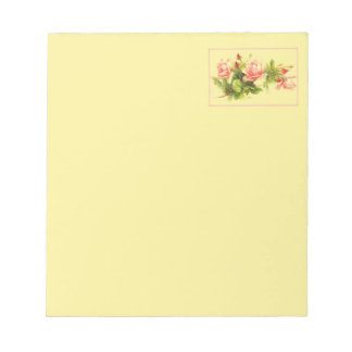 Rosy Pink Notepad