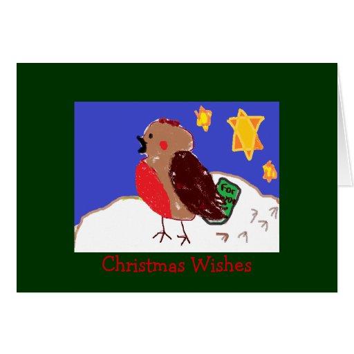 Rosy Robin Christmas Cards