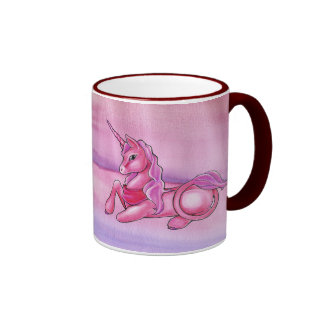 Rosy Unicorn Series Mug