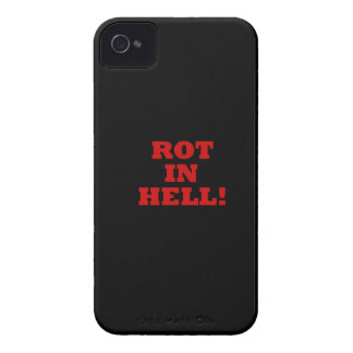 Rot In Hell iPhone 4 Cases