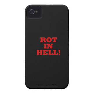 Rot In Hell Case-Mate iPhone 4 Cases