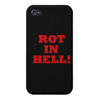 Rot In Hell iPhone 4/4S Cases