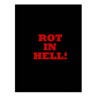 Rot In Hell Postcard