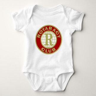 Rotaract Logo Baby Bodysuit