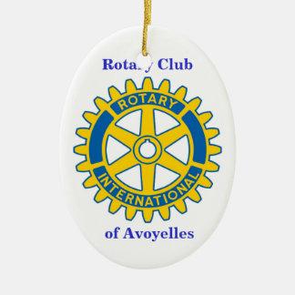 Rotary Club, of Avoyelles Christmas Ornament