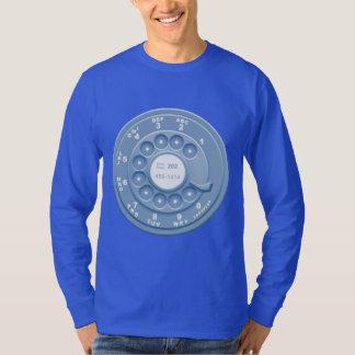 Rotary Faux -blu T-Shirt