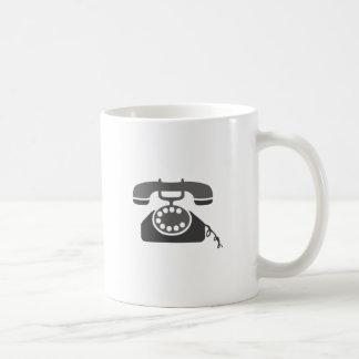 Rotary Phone Basic White Mug