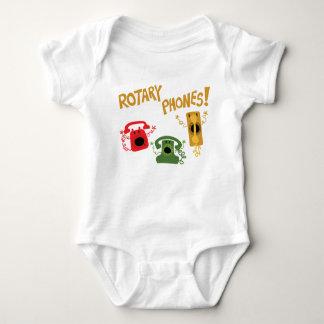 Rotary Phones! Baby Bodysuit