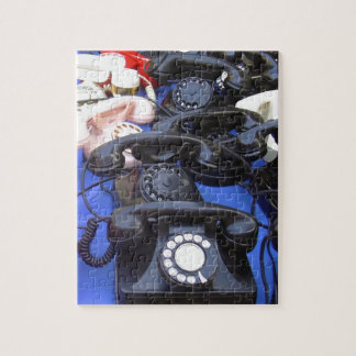 Rotary Telephone Jigsaw Puzzle