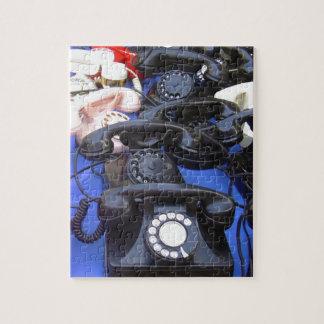Rotary Telephone Jigsaw Puzzles
