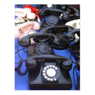 Rotary Telephone Postcard