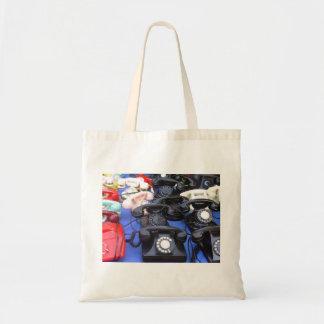 Rotary Telephone Tote Bag