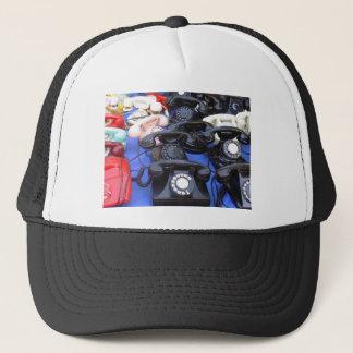 Rotary Telephone Trucker Hat