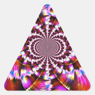 Rotational Triangle Sticker