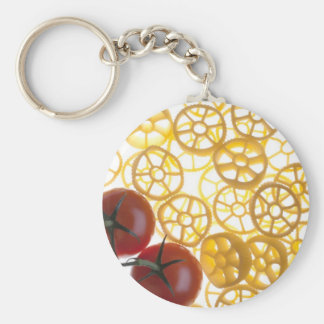 Rotelle and Tomatoes Keychain