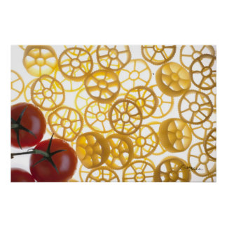 Rotelle and Tomatoes Prints Poster