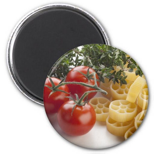 Rotelle Pasta and Ingredients Magnet