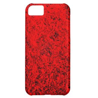 roter rasen design iPhone 5C case