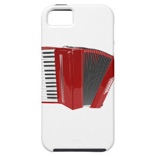 Rotes Akkordeon Tough iPhone 5 Case