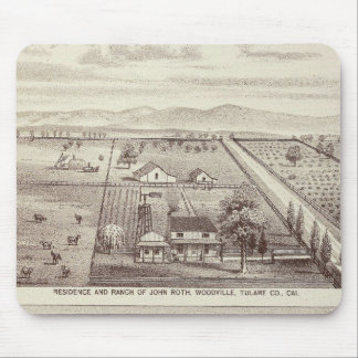 Roth, Scruggs ranches Mouse Mat