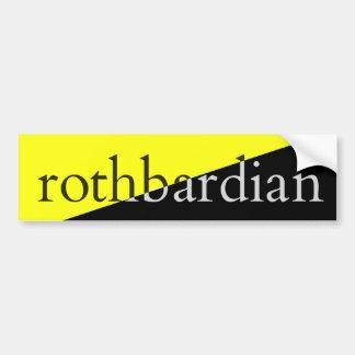 Rothbardian Bumper Sticker