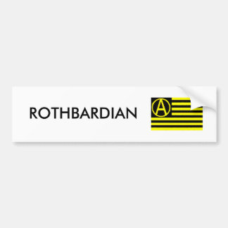 Rothbardian Bumper Sticker