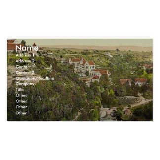 Rothenburg baths, Rothenburg (i.e. ob der Tauber), Business Card