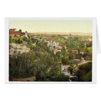 Rothenburg baths, Rothenburg (i.e. ob der Tauber), Greeting Card