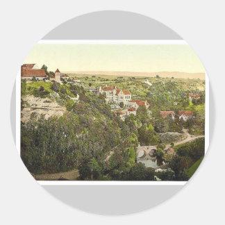 Rothenburg baths, Rothenburg (i.e. ob der Tauber), Round Sticker