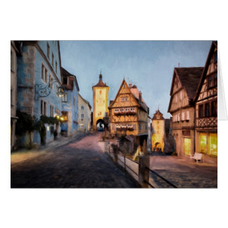 Rothenburg Bavaria Card