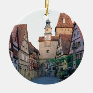 Rothenburg city, Germany Christmas Ornament