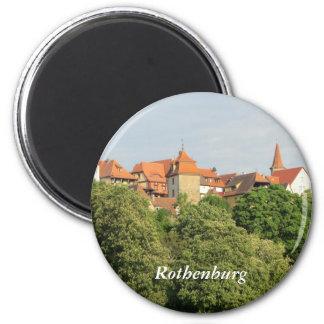 Rothenburg, Germany 6 Cm Round Magnet