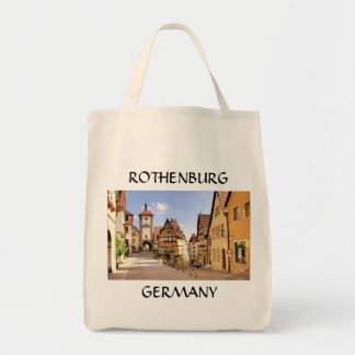 ROTHENBURG, GERMANY GROCERY TOTE BAG