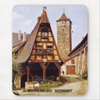 ROTHENBURG, GERMANY MOUSE MAT