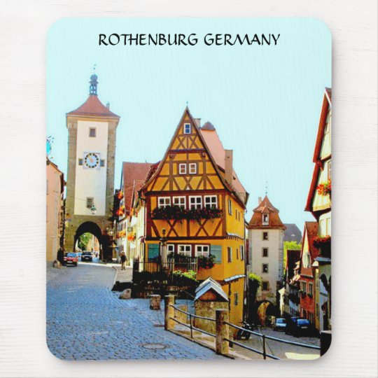 ROTHENBURG GERMANY MOUSE MAT