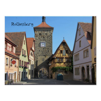 Rothenburg, Germany Poster