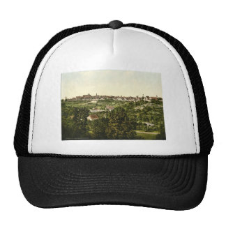 Rothenburg (i.e. ob der Tauber), general view,  Ba Mesh Hats