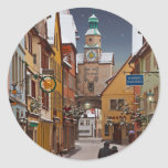 Rothenburg - Markusturm Christmas Sticker