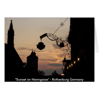 Rothenburg Note Cards