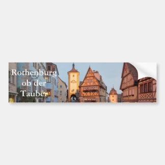 Rothenburg ob der Tauber Bumper Sticker