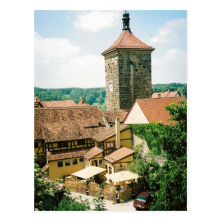 Rothenburg ob der Tauber, Germany Postcard