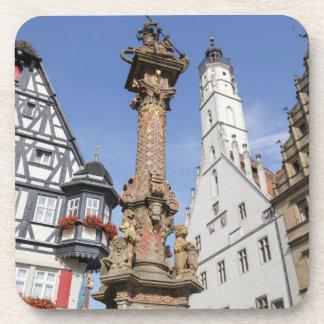 Rothenburg ob der Tauber in Bavaria Beverage Coasters