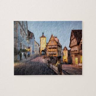 Rothenburg ob der Tauber Jigsaw Puzzle